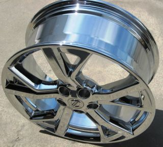 19 Factory Nissan Maxima Altima M35 M45 G35 Chrome Wheels Rims