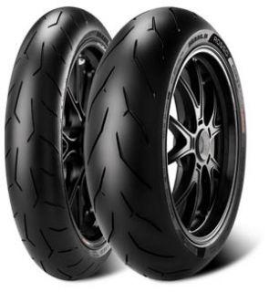 Pirelli Diablo Rosso Corsa Front Rear Tire Set 180 55 17 120 70 17 180