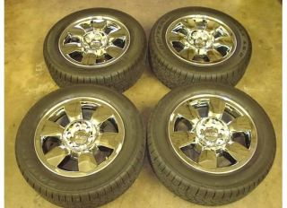 20 GMC Sierra Yukon Wheels Rims Tires 2011 2012 Chrome Denali SLT Sle