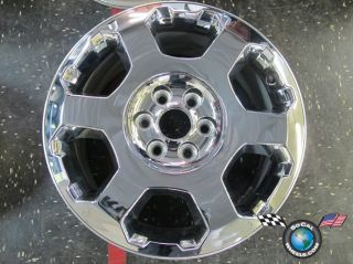 12 Ford F150 Factory Chrome Clad 20 Wheel Expedition 3786 Rim