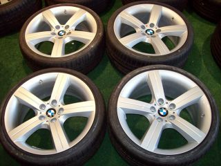 19 BMW Factory 199 OEM Wheels Tires E90 E91 E92 E93 325 328 330 335 3