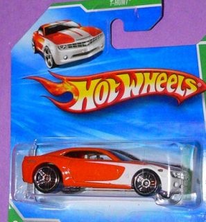 2010 Hot Wheels Treasure Hunt Chevy Camaro Concept 62 Short Card