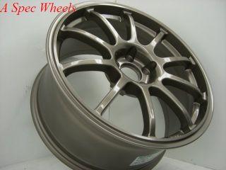 17x8 Rota G Force 5x100 48 Bronze Wheel Fits WRX STI Legacy Outback