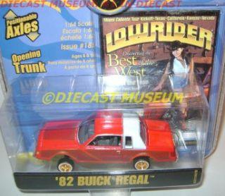 1982 82 Buick Regal Lowrider Magazine Revell Diecast RARE