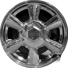 GMC Envoy 2002 2007 17 inch Used Wheel Rim