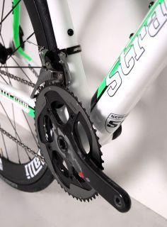 New 2012 SRAM Red Carbon Road Bike Aero Wheels BB30 56 Cm