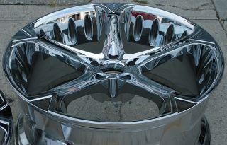 Giovanna Dalar 5V 20 Chrome Rims Wheels G35 Staggered