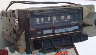 70 71 1970 Ford Thunderbird Am FM Stereo Radio