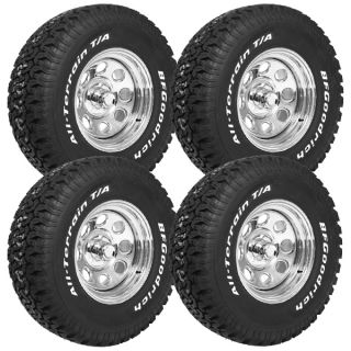 Cragar 15x8 Soft 8 Wheels 4 BFG at T A KO 31x10 5 15 Tires Free