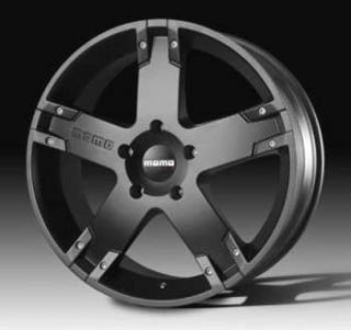 Momo Storm Wheels 22x9 5 Black 4 Rims Range Rover