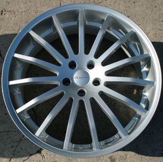 Giovanna Martuni 22 Silver Rims Wheels Range Rover HSE