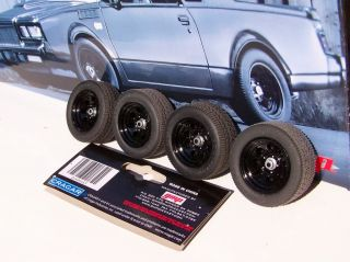 18 GMP Black Cragar Street Fighter Wheel Tire Set