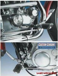FORWARD CONTROLS FOR HARLEY XL SPORTSTER 91 03 WITH HARDWARE NO PEGS