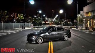 VMR 19 inch V713 Wheels Hyper Silver BMW 3 Series E90 E92 E93 328i