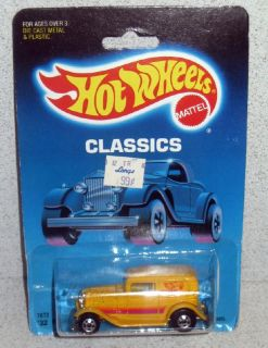 Hot Wheels Classics 32 Ford Delivery 7672 MOC 1988