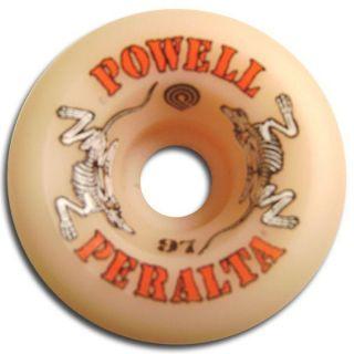 Powell Peralta 2 Rats Skateboard Wheels 60mm 97A Natural