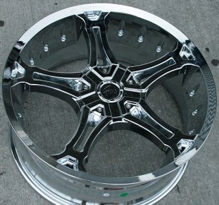 RVM 493 22 Chrome Rims Wheels GMC Acadia Traverse