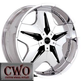 22 Chrome Status Trilla Wheels Rims 5x114 3 5x4 75 5 Lug Maxima Altima