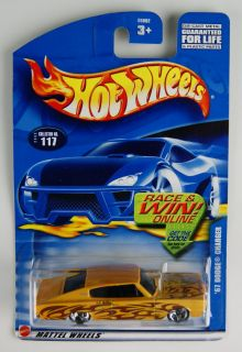 1609 Hot Wheels 2001, # 117 ~ 67 Dodge Charger MIP / MOC