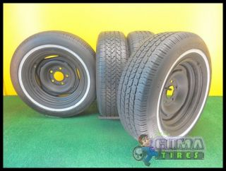 RADIAL 195/75/14 USED TIRES + RIMS WHEELS 195/75/R14 MIAMI 1957514