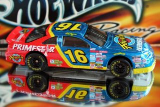 Hot Wheels Pro Racing 1997 1st Edition Ted Musgrave 16 Ford T Bird