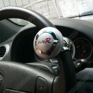 Type R Car Steering Wheel Aid Spinner NOB Knob Power Handle TR 386 Van