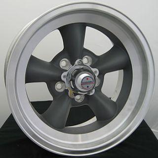 15x10 Gray Wheels Rims Torq Thrust D 5x4 5