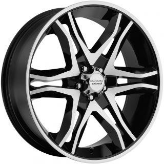 20 Black Wheels Rims Sierra Silverado Tahoe Yukon Avalanche Toyota