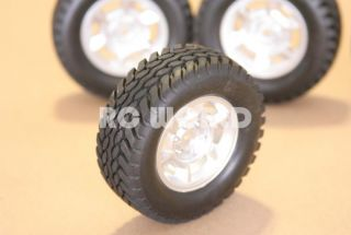 RC 1 10 Tamiya Highlift Truck Wheels Tires Rims