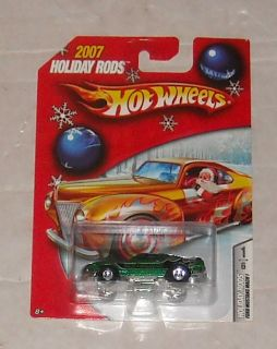 2007 Mattel Hot Wheels Holiday Rods Series Ford Mustang Mach I Diecast