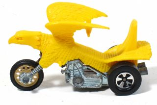 Vintage Hot Wheels Rrrumblers Yellow Bold Eagle Bike Red Line 1970s