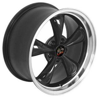18 x9 Black Fit Mustang® GT Bullitt Bullet Rims 94 04 Cobra