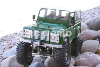 RC 1 10 Land Rover Defender 90 Rock Crawler RTR New