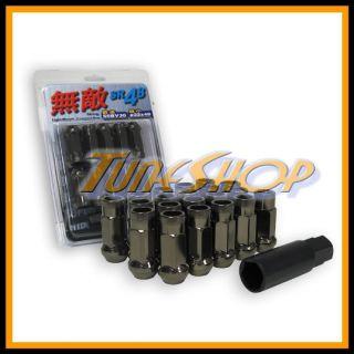 SR48 WHEELS LUG NUTS 12X1.5 1.5 ACORN RIM EXTENDED OPEN END 20 TI C H