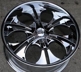 RVM WI26 22 Chrome Rims Wheels Mercury Mountaineer