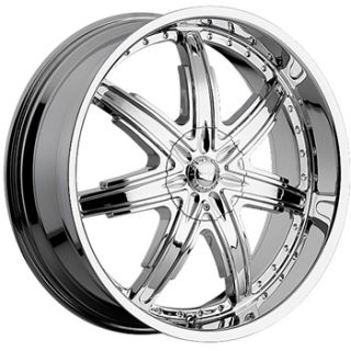 24X10 Chrome Wheel Devno Sire 6x5 5 Silverado 1500 Tahoe Escalade