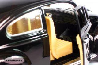 New Volkswagen Beetle Wecker 1 18 Alloy Diecast Model Car Black B117A