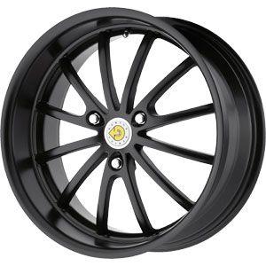 New 17X6 3 112 Genius Darwin Matte Black Wheel/Rim
