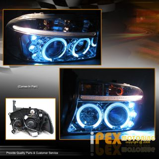 97 04 Dodge Dakota Ultra Bright SMD LED Halo Projector Turn Signal