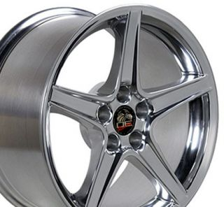 18 Polished Wheels Fit Ford Mustang® GT Saleen Style Rims