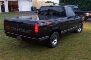 454 SS 454SS Chevrolet Tailgate Bedside Decal Kit 90 91