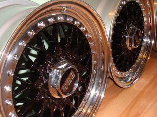Authentic BBs RS 101 Split Rims 15x7 ET38 4x108 Old Audi 80 90 B3 B4