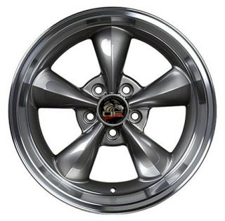 Anthracite Bullitt Bullet Wheels ZR Tires Rims Fit Mustang® GT 94 04