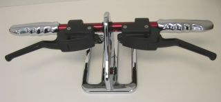 Dual Hydraulic Black Handlebar Hand Controls Harley