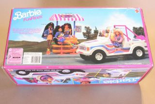 Mattel Barbie Funrider Jeep Classic Barbie 1990 New