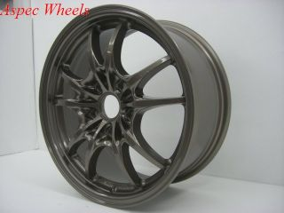 Rota Circuit 10 16x7 5x114 3 ET45 Bronze Wheels Rims