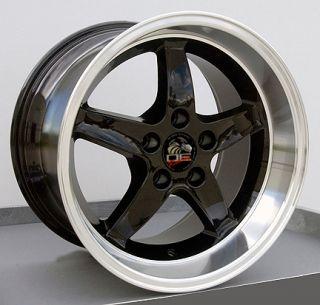 17 Rim Fits Mustang® Cobra Wheel Black 17x10 5