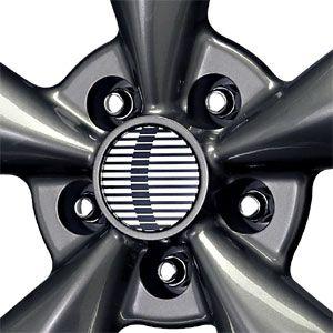 114.3 Bullet Mustang Replica Wheels Gunmetal Lip Machined Wheels/Rims