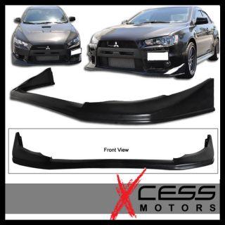 08 Mitsubishi Evolution EVO x Front Bumper Lip Spoiler