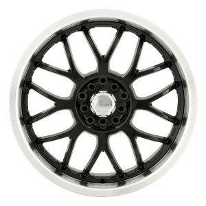 18 inch Akita AK6 Black Wheels Rims 5x115 STS Impala Lumina Malibu
